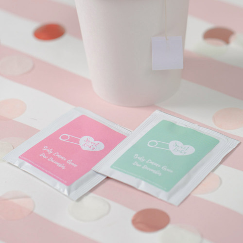 Personalized Sweet Baby  Baby Shower Tea Bags