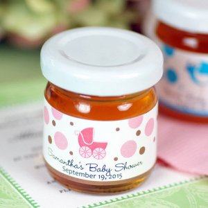 Personalized Baby Shower Honey Jars