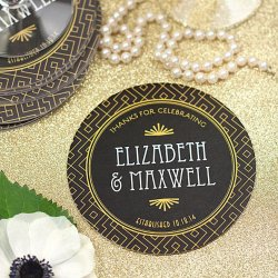 Personalized Wedding Coasters