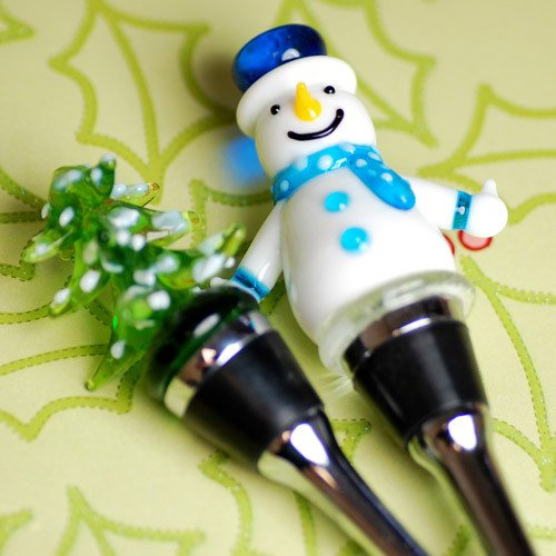 Winter Bottle Stoppers
