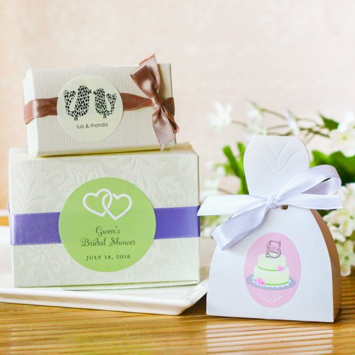 Wedding Favour Chocolate Truffles With Personalised Label *30 bags*