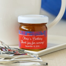 Personalized Birthday Party Honey Jars