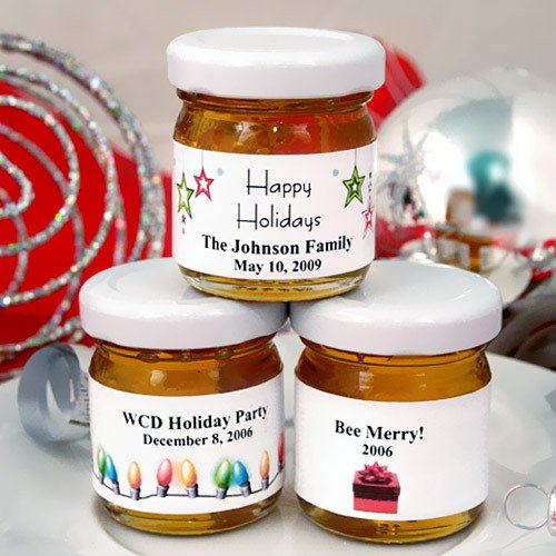 Holiday Honey Jars