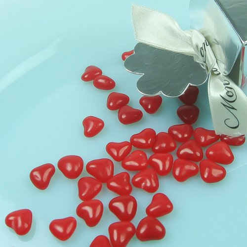 Mini Hearts Wedding Favor Candy