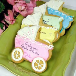 Custom Baby Shower Cookies