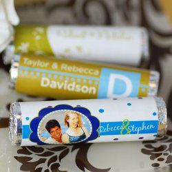 Personalized Wedding Life Saver Rolls