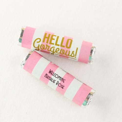 Personalized Hello Gorgeous Mint Rolls