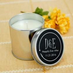 Personalized Travel Candle Tins