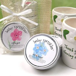 Baby Sprinkles Plantable Seed Favors