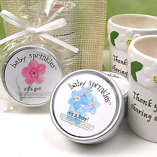 Baby Shower Plantable Seed Favors