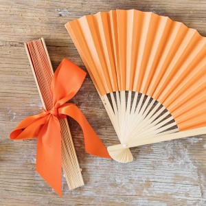 Colored Paper Hand Fan