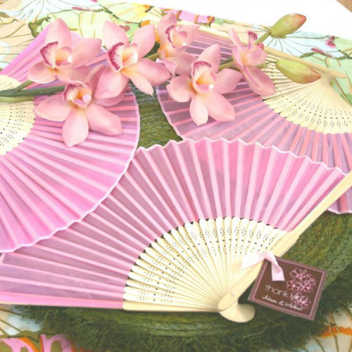 Colored Paper Hand Fans
