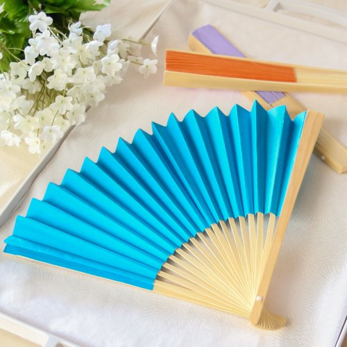 Colored Hand Fans