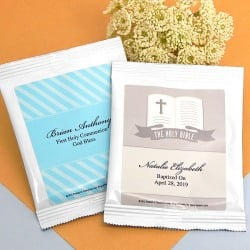 Personalized Religious Hot Cocoa Mix Favors