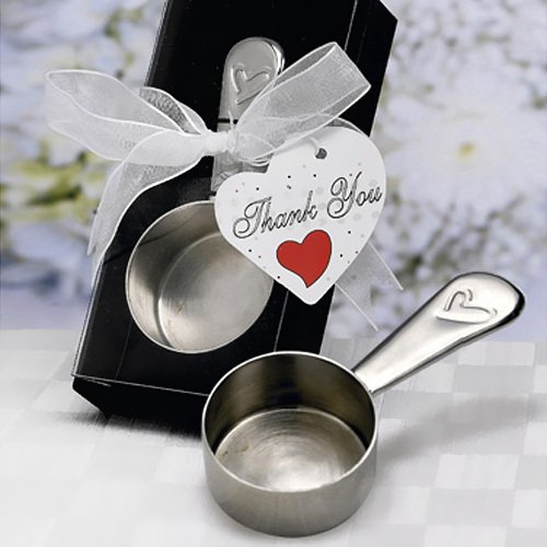 Round Coffee Scoop Favors