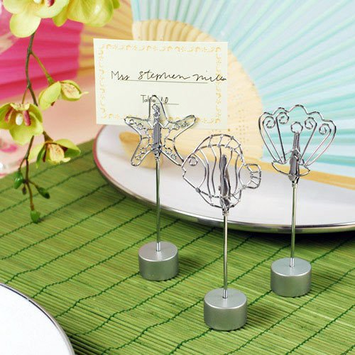 Beach Theme Place Card Holders