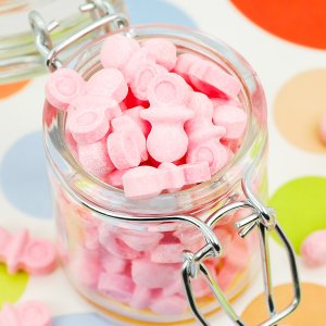 Pastel Sweet Tart Pacifier Candy