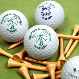 Personalized Wedding Golf Balls