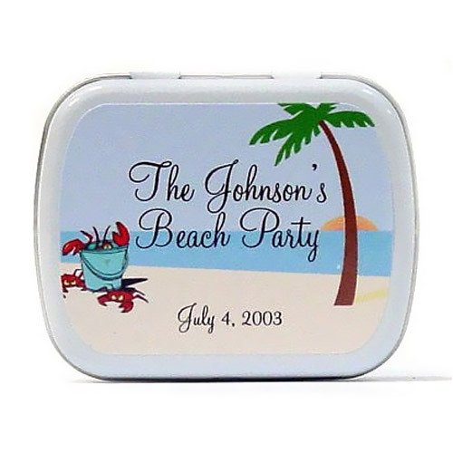 Beach Lobster Wedding Mint Tin