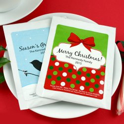 Holiday Hot Cocoa Favors