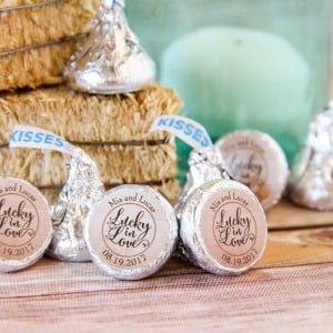 Personalized Wedding Hershey's Kisses
