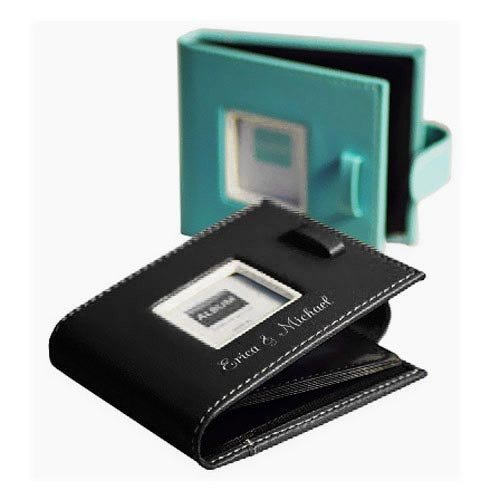 Personalized Leather Photo Wallets