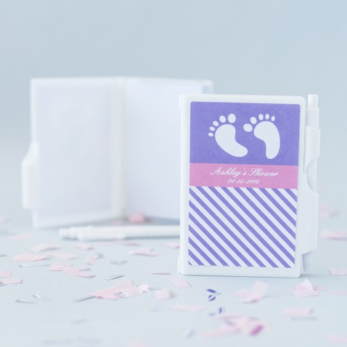 "Personalized ""Little Notes"" Notebook Favors"