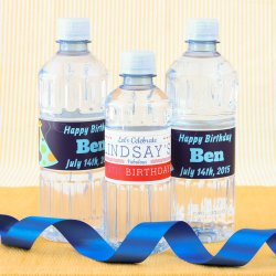 Personalized Birthday Bottled Water