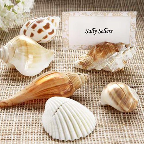 Natural Seashell Place Card Holders