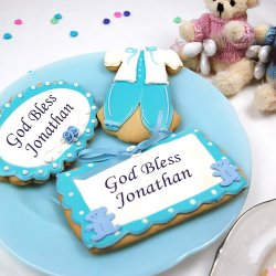 Personalized Religious Themed Custom Cookies
