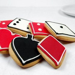 Poker Themed Custom Cookies
