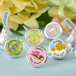 Personalized Baby Shower Hershey's Kisses