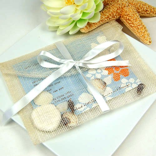 Natural Sinamay Card Envelope