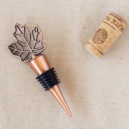 Fall Leaf Wine Bottle Stoppers