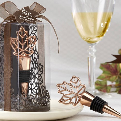 Fall Leaf Wine Bottle Stopper