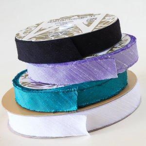 Midori Dupioni Silk Ribbon