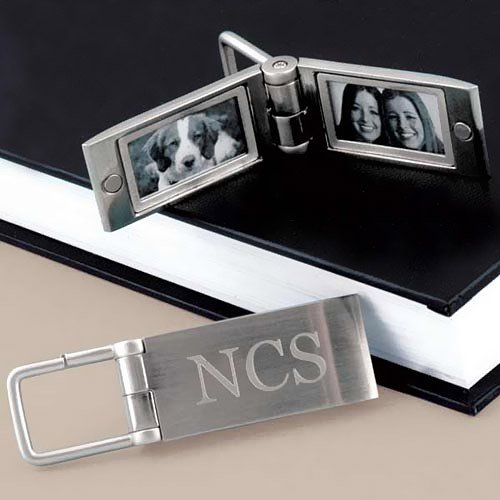 Engraved Photo Key Rings