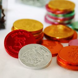 Personalized Wedding Chocolate Coins