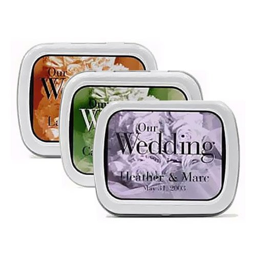 Bouquet Wedding Mint Tins
