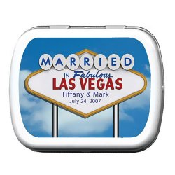 Las Vegas Themed Personalized Mint Tins