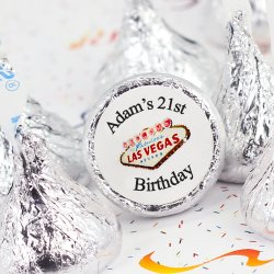 Personalized Birthday Hershey's Kisses
