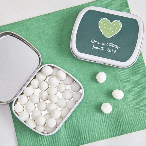 Exclusive Stuck On You Wedding Collection Personalized Mint Tins
