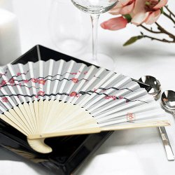 Cherry Blossom Silk Hand Fans