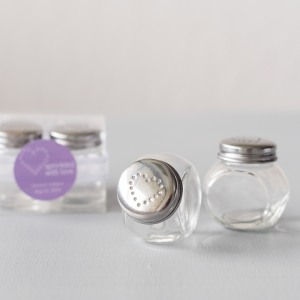 Mini Candy Jar Salt and Pepper Shakers