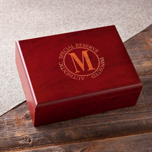 Personalized Wood Humidor