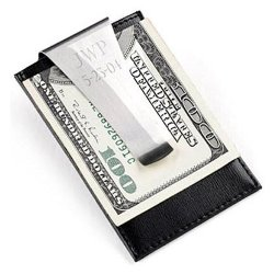 Engraved Money Clip / Credit Card Holder