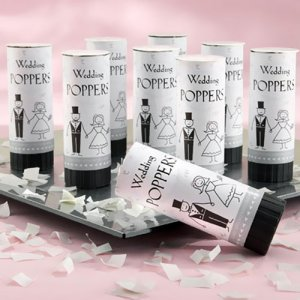 Eco Friendly Wedding Confetti Poppers