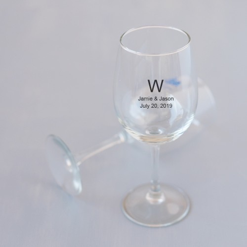 Personalized Stemmed Wine Glass
