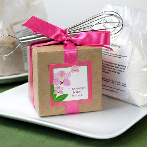 Baking Mixes with Ribbon and Mini Whisk