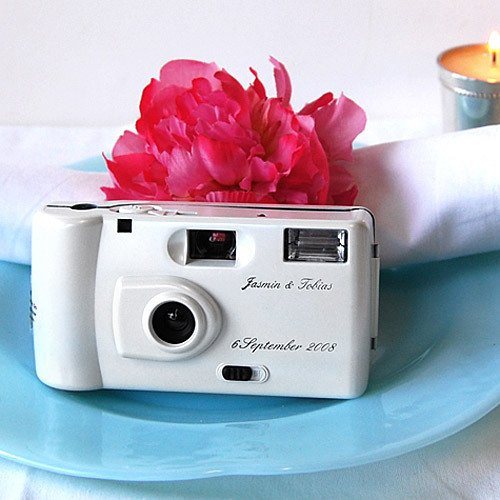 Personalized Wedding Cameras